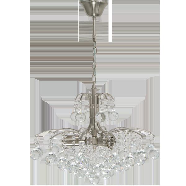 lampa kryształowa wisząca
