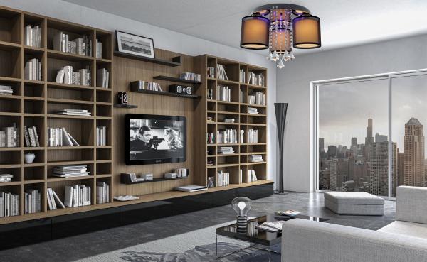 wizualizacja plafonu LED