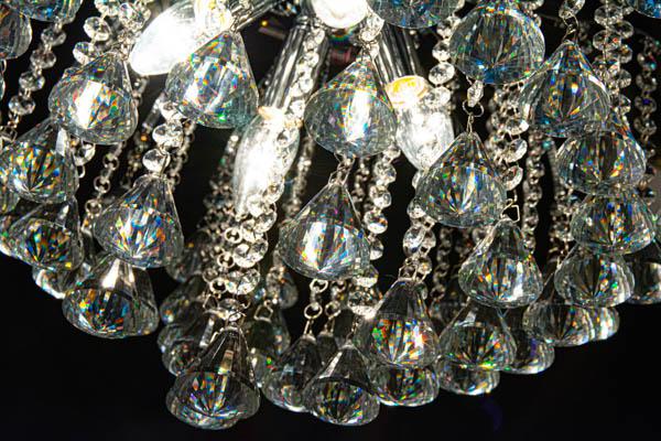 Kryształki transparentne