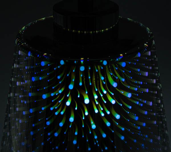 Podświetlony klosz holograficzny