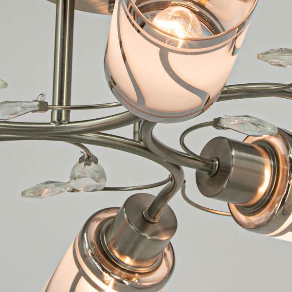Detale klasycznej lampy