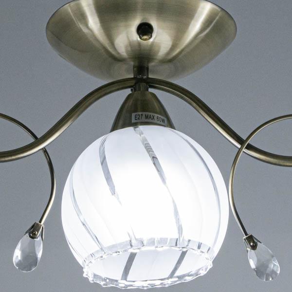 Detal w klasycznej lampie