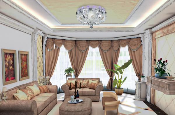 plafon w stylu pałacowym