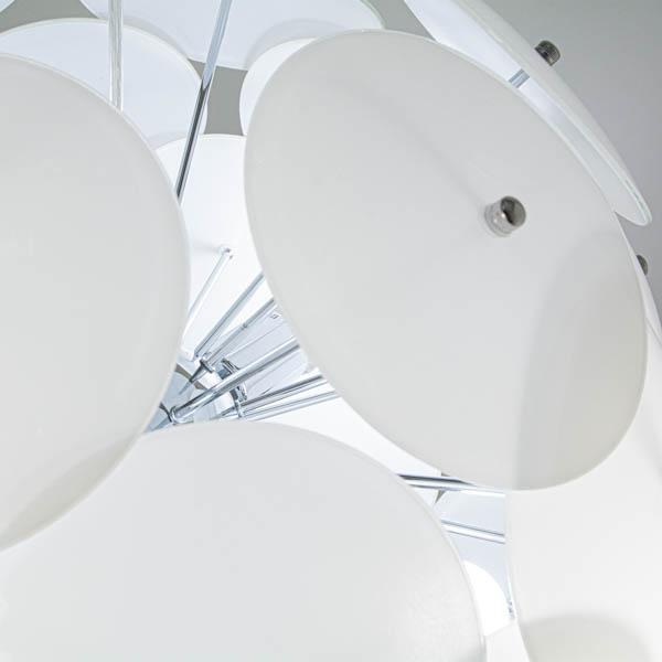 detale klosza lampy w stylu japońskim