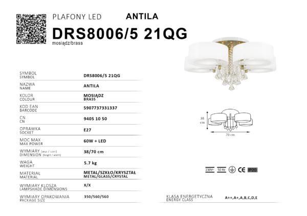 plafon DRS8006