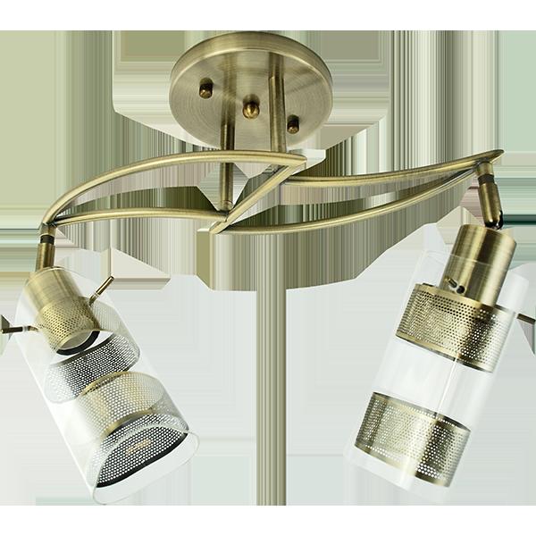 lampa loft połączenie szkła i metalu