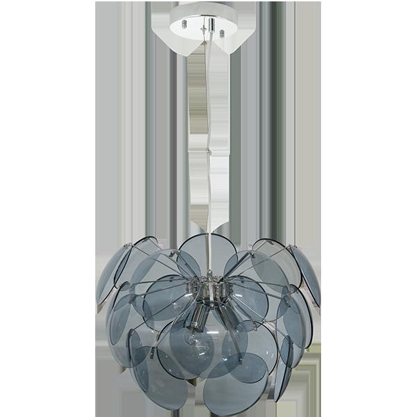 Lampa wisząca z dużym kloszem