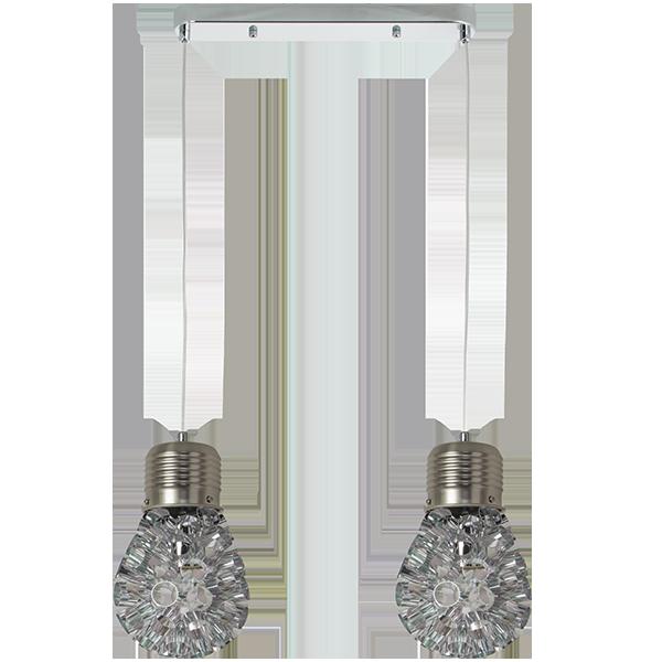 Lampa z dekoracyjnym kloszem