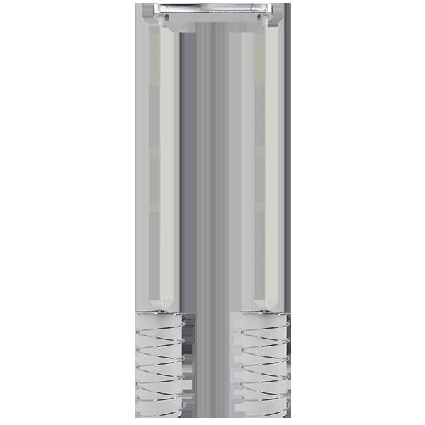 Lampa ze szklanym kloszem