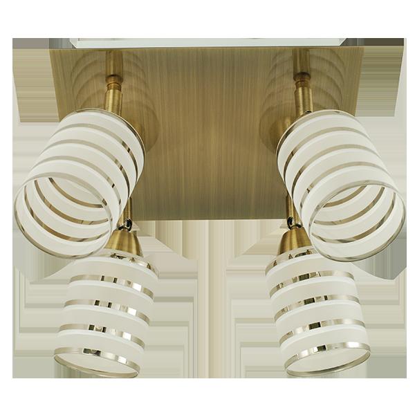 lampa z klasycznymi ozdobnymi kloszami