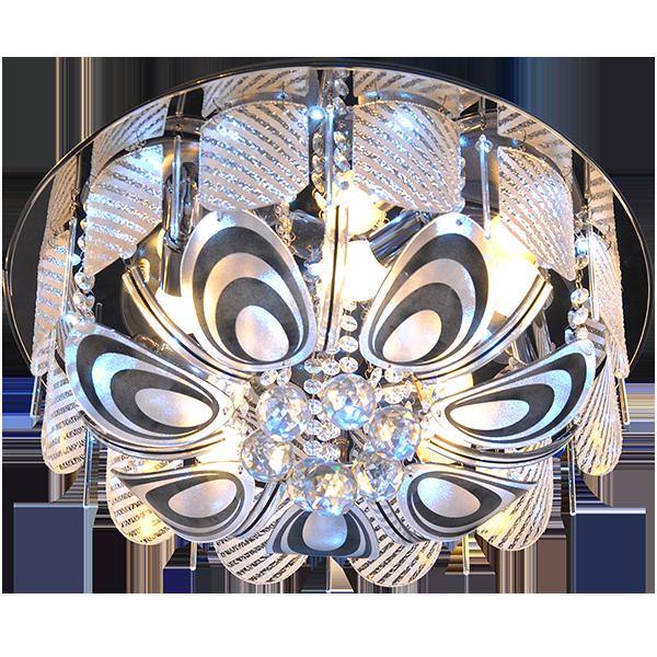 Klasyczny ozdobny plafon LED