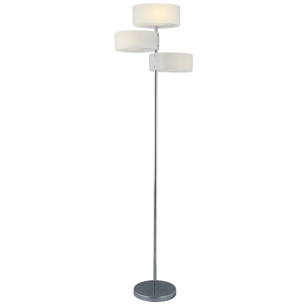 Stojąca lampa podłogowa plafon LED