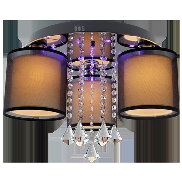 Plafon LED z podświetleniem